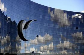 Fotografia da fachada do TST, em Brasília