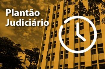 Foto do prédio sede do TRT6 e texto Plantão Judiciário