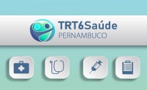 logomarca TRTSaúde